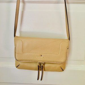 Kate Spade Cream Leather Crossbody Bag
